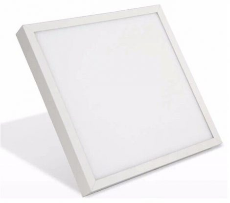 V-TAC falon kívüli LED lámpa panel 18W - meleg fehér, négyzet - 4919