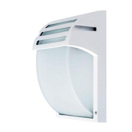 V-TAC Frost kültéri, kerti fali lámpa E27 foglalattal - fehér - 7077