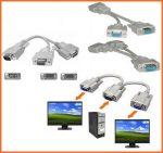 VGA elosztó kábel
