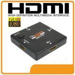 3 portos switch HDMI kapcsoló elosztó