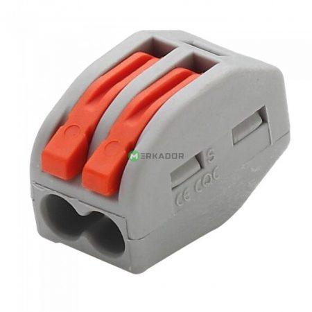 V-TAC oldható 2-es kábelösszekötő - 11129