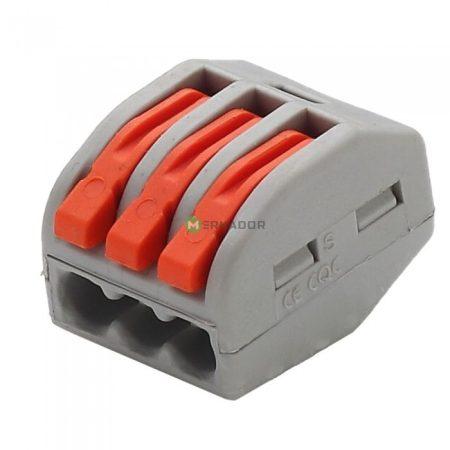 V-TAC oldható 3-as kábelösszekötő - 11130