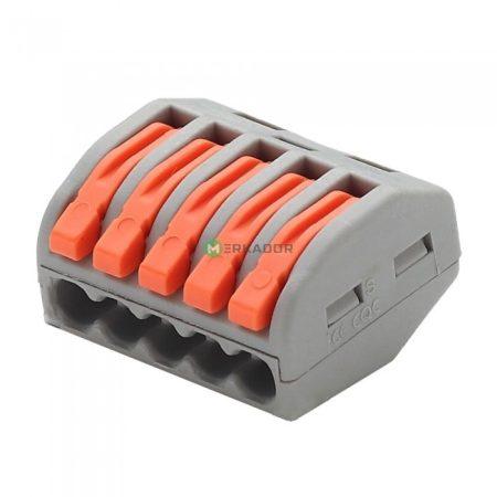 V-TAC oldható 5-ös kábelösszekötő - 11131
