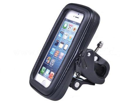 Vízálló kerékpár telefon, GPS tartó - S méret