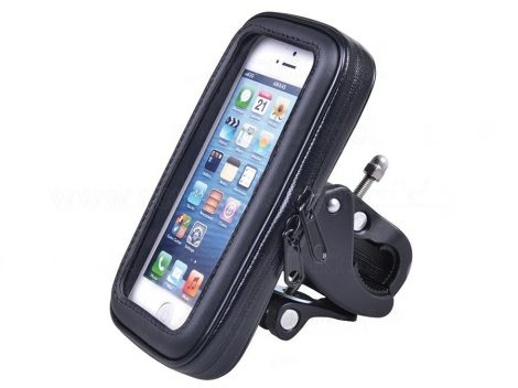 Vízálló kerékpár telefon, GPS tartó - M méret