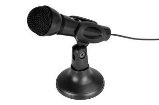 Asztali mikrofon + tartó állvány