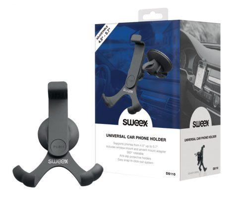 Sweex DS110 autós tartó szélvédőre és szellőzőrácsba