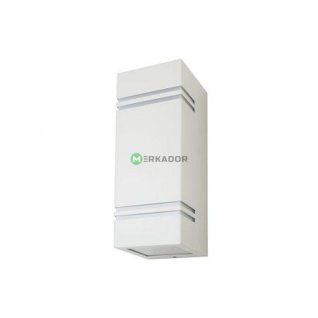 V-TAC fehér kétirányú szögletes fali lámpa GU10 foglalattal - 7543