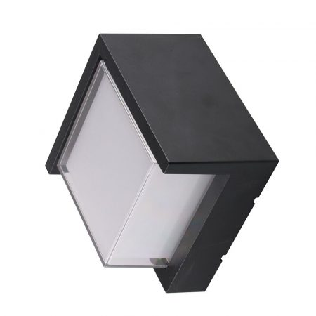 V-TAC szögletes kültéri fali lámpa 12W - 4000K - 8540