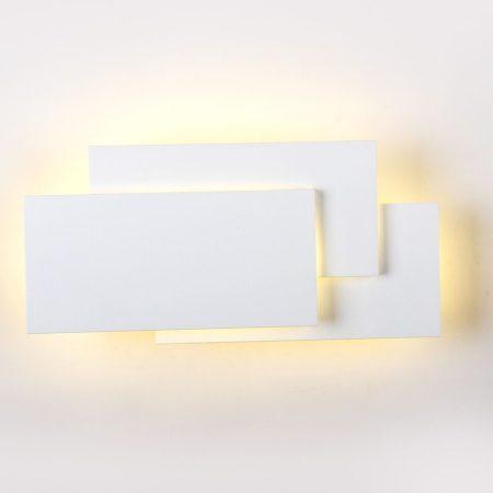 V-TAC indirekt fényű fali LED lámpa - 12W, IP20, természetes fehér - 8203