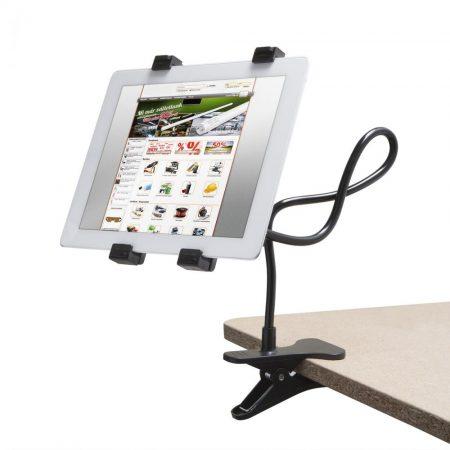 Tablet tartó állvány, asztali konzol