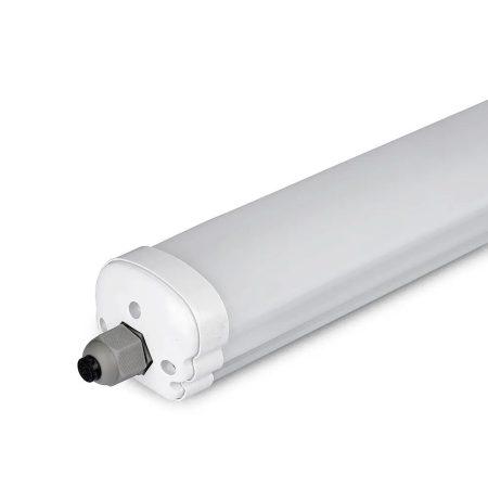 V-TAC kültéri por,-és páramentes IP65 LED lámpa 150cm - 6400K - 6286