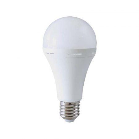 V-TAC LED lámpa izzó 3W E27 - meleg fehér - 7202
