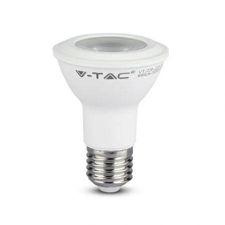 V-TAC PRO 7W E27 PAR20 meleg fehér LED lámpa izzó - SAMSUNG chip - 147