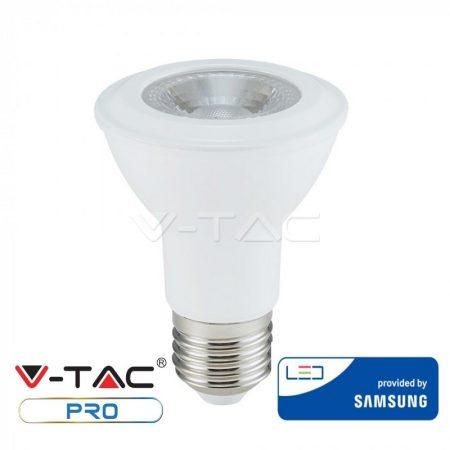 V-TAC PRO 7W E27 PAR20 természetes fehér LED lámpa izzó - SAMSUNG chip - 148