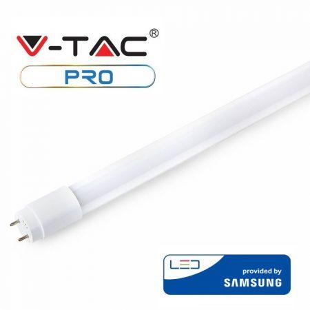 V-TAC PRO T8 LED fénycső 120 cm, 18W, 6400K - Samsung chip - 655
