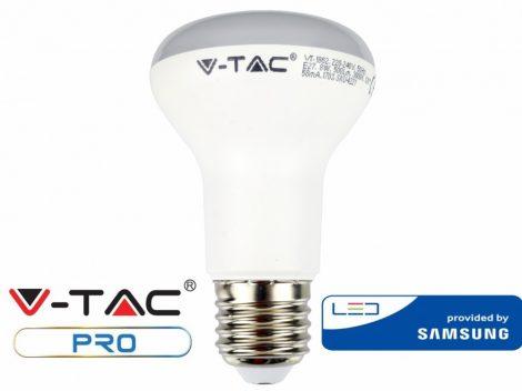 V-TAC PRO 8W E27 R63 meleg fehér LED lámpa izzó - SAMSUNG chip - 141