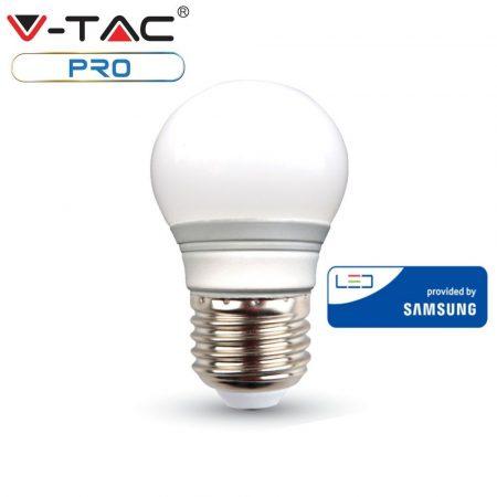 V-TAC PRO 5.5W E27 természetes fehér LED lámpa izzó - SAMSUNG chip - 175
