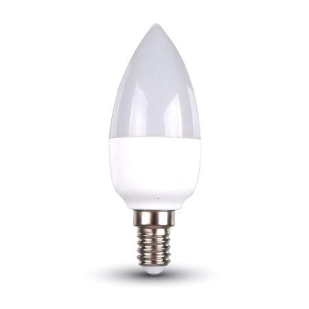 V-TAC dimmelhető LED gyertya izzó E14, 6W - meleg fehér - 4213