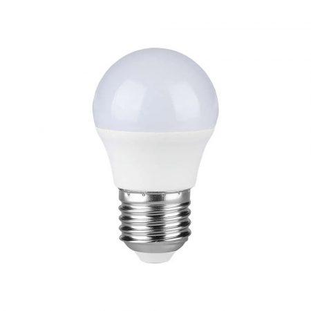 V-TAC LED lámpa izzó 5.5 W E27 - meleg fehér - 7407
