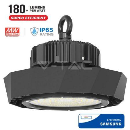 V-TAC LED csarnokvilágító, Samsung chipes mélysugárzó lámpa 120W, 4000K - 568