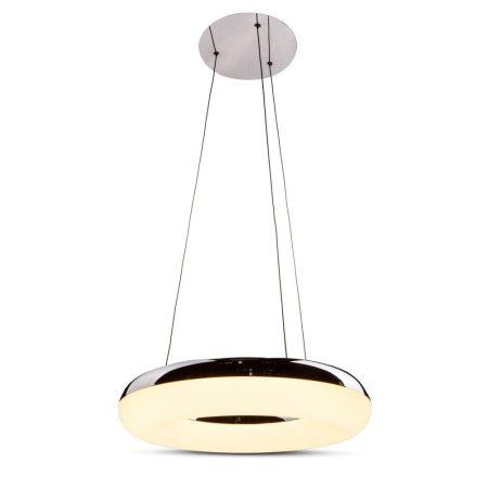 V-TAC mennyezeti 40W LED króm csillár - meleg fehér - 3874