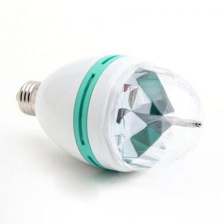 Színváltós RGB LED dekor party izzó (E27 / 3W)