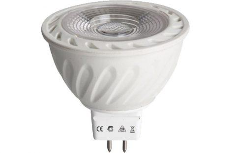 LED izzó G4/MR16, 12V/5W, meleg fehér