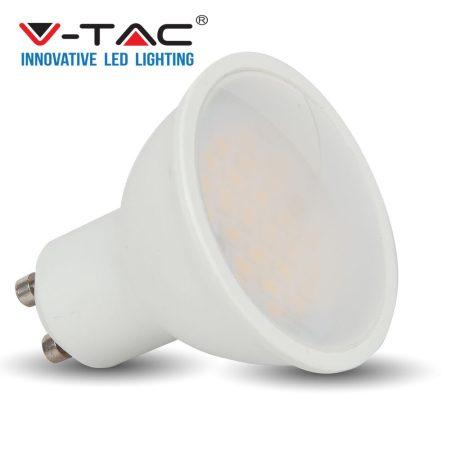 V-TAC spot lámpa LED izzó, 6W GU10 - természetes fehér - 7311