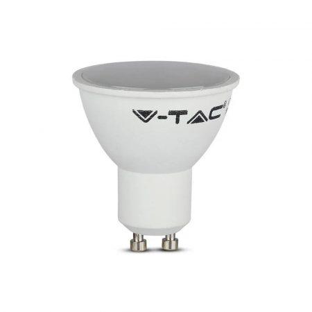V-TAC LED SPOT lámpa, 5W ledes GU10 izzó, égő - Természetes fehér - 1686