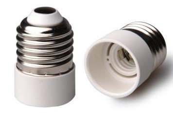 E27 - E14 foglalat átalakító adapter