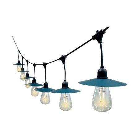 LED mécses piros mécsestartóval, ajándék elemmel