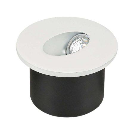 V-TAC süllyeszthető LED lépcső lámpa 3W, meleg fehér - 1207