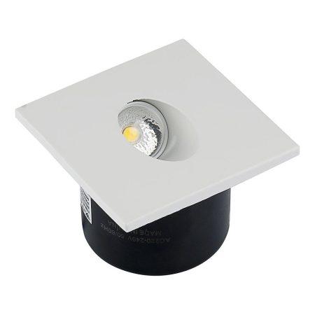 V-TAC süllyeszthető LED lépcső lámpa 3W, természetes fehér - 1210