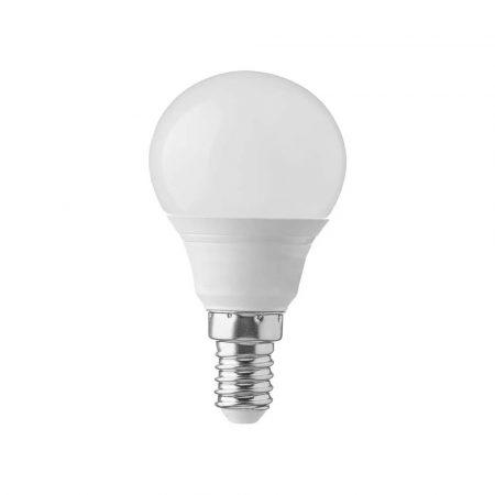 V-TAC 5.5W LED lámpa izzó P45, E14, meleg fehér - 42501