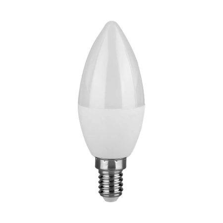 V-TAC LED 4W gyertya izzó E14 - hideg fehér - 4122