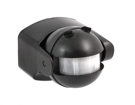 V-TAC infra mozgásérzékelő 180°-os - fekete - 5077