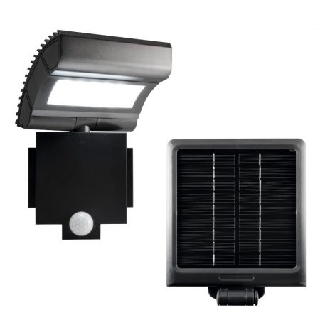 Napelemes, szolár lámpa LED reflektor mozgásérzékelővel