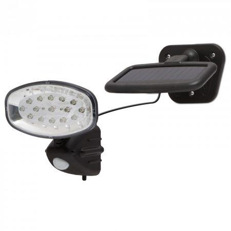 Napelemes LED lámpa, reflektor mozgásérzékelővel