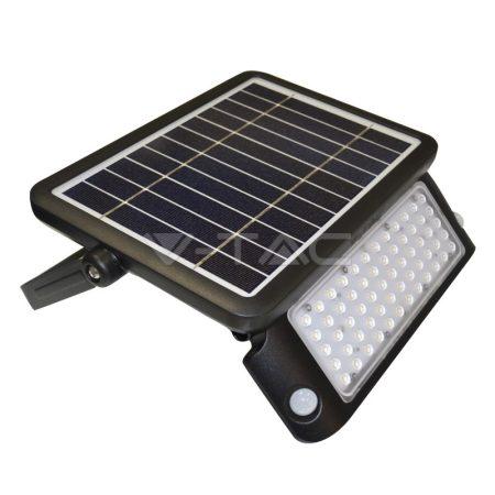 V-TAC napelemes LED lámpa, reflektor mozgásérzékelővel 10W - 8550