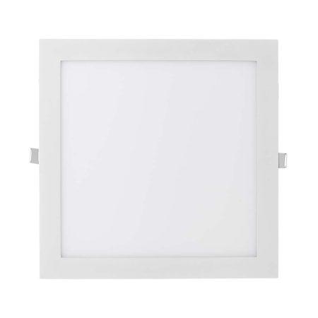 V-TAC süllyeszthető mennyezeti négyzet LED lámpa panel - 24W, természetes fehér - 4888