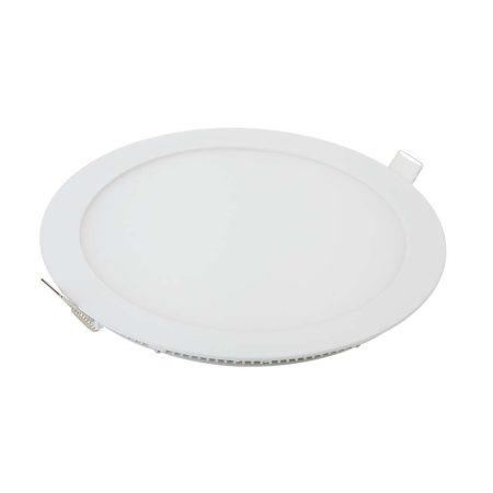 V-TAC süllyeszthető mennyezeti kerek LED lámpa panel - 24W, természetes fehér - 4873