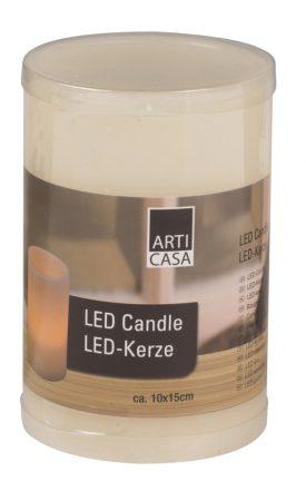 Elemes ledes gyertya / LED viaszgyertya 15 cm
