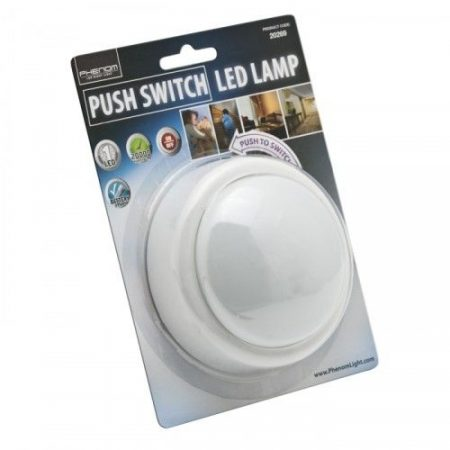 Vezeték nélküli nyomógombos lámpa