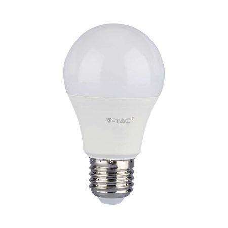 V-TAC alkonykapcsolós LED izzó 9W E27 foglalattal, meleg fehér - 4459