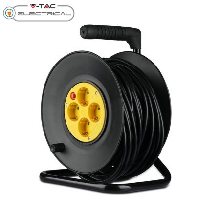 V-TAC 25m hosszabbító kábeldobon - 8782