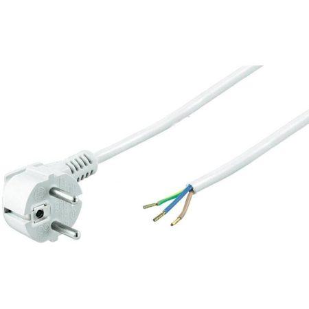 Szerelhető földelt hálózati kábel 2m