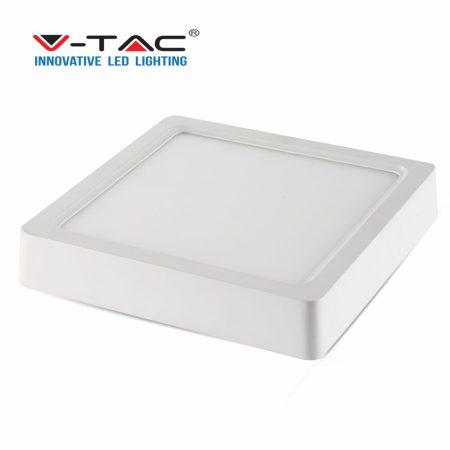V-TAC mennyezeti LED panel lámpa, négyzet - 22W - 4500K - 4813