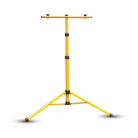 V-TAC háromlábú LED reflektor állvány, sárga tripod - 9104