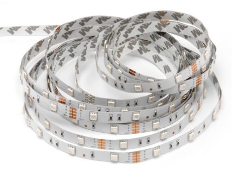 V-TAC beltéri RGB LED szalag 5050 SMD/30 LED/m - 2124